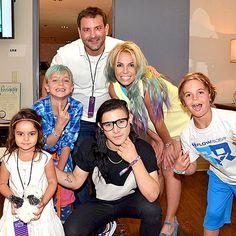 Britney Spears debuts rainbow colored hair on Instagram