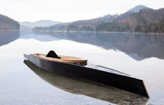 Luxury boat design and production  .Cavaleri, or- The Knight, is a classy and stylish- all wood luxury kayak, measuring 470 cm.