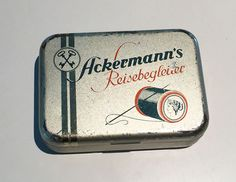 A German travel reparation Tin, from Ackermann Company, around the 50ties, in my Collection