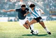 CLAUDIO GENTILE y su marcaje a Maradona