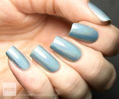 You're My Boy Blue  Blue Ultra Holographic Nail Polish by ILoveNP, $10.00