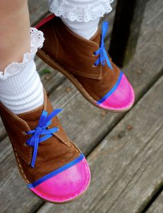 MollyMoo – crafts for kids and their parents DIY Shoe Charms - 6 Ways To Add Character to Your Kids Shoes