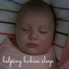 The How To Mom: how to help babies sleep