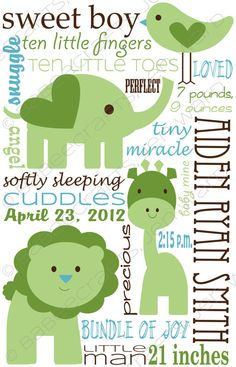 Personalized Organic Cotton Baby Boy Blanket by @babeecrafts, $95.00 Love this! But $95??