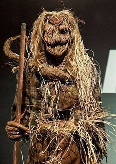 Real scarecrow.  Creepy as hell!