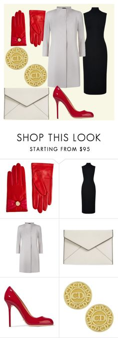 """7\18"" by fashionista-763 on Polyvore featuring мода, Ted Baker, Harrods, Cinzia Rocca, Rebecca Minkoff, Sergio Rossi и Vintage"