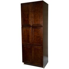 Everyday Cabinets Leo Saddle Cherry Mahogany 30-inch Pantry/Utility Kitchen Cabinet