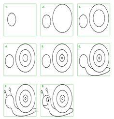 Schoolwiz - Hoe teken je een slak