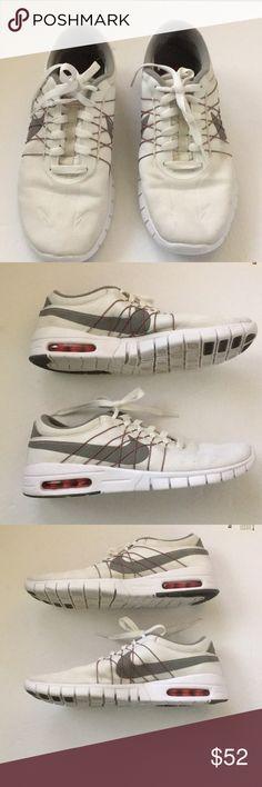 bf18002454abc NIKE Eric Koston 1 air white and gray shoes Excellent condifion Smoke pet  free home