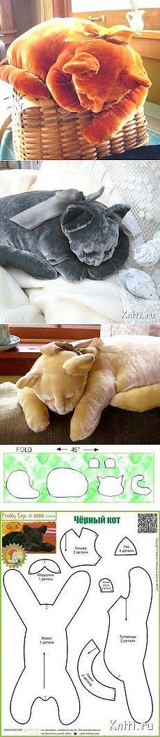 Шитая подушка- — Мир вязания и рукоделия
