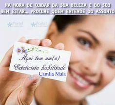 Esteticista Camila Maia