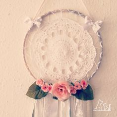 Dream catcher White Ribbon from the wedding series