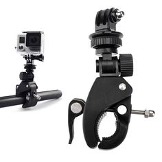 Go pro Bike Motorcycle Bicycle Handlebar Camera Mount Tripod Adapter for Gopro Hero 2 3 3+ 4 5 Xiaomi Yi Camera Accessories