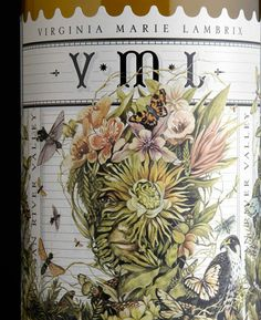 Stranger VML Gewürztraminer   **the detail and beauty of the illustration is intense!