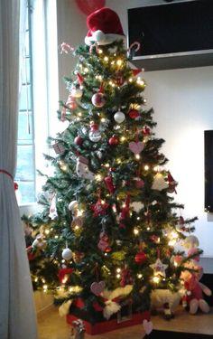 Our Adorable Santa Inspired Christmas Tree