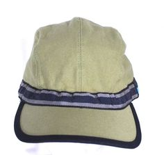9dbc2626ce1 KAVU Size Medium Adjustable Khaki Green and Black Strapcap Hat Cotton Made  USA…