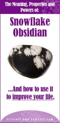 Sknowflake Obsidian Meaning Crystals And Gemstones, Stones And Crystals, Gem Stones, Snowflake Obsidian Meaning, Cure For Sunburn, Crystal Uses, Crystal Meanings, Healing Stones