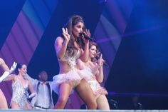 Friday March 1, 2013: Cheryl Cole, Nadine Coyle, Kimberley Walsh and Nicola Roberts from Girls Aloud band perform live in concert during the...