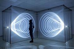 Abstract audiovisual installation for the Festival Insanitus 2013 Kaunas, Lithuania | Vuing.com