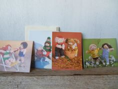 Cabbage Patch Kids Cards Current 1984 by silverliningtoys on Etsy