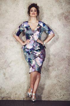 7c757bc9021 Anna Scholz for Simply Be print pelum dress - Fabulous!