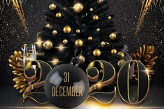 New Year Christmas Party Flyer New Years Eve Quotes, New Years Eve Day, Happy New Years Eve, Happy New Year 2019, Merry Christmas And Happy New Year, New Years Party, New Year Wishes Images, New Year Pictures, Happy New Year Images