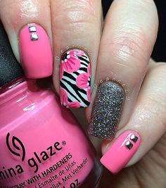 pink-nail-art-51 - 65 lovely Pink Nail Art Ideas   <3