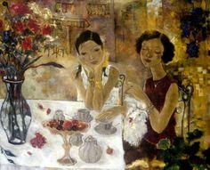 Xi Pan (Chinese)  'Afternoon Tea'
