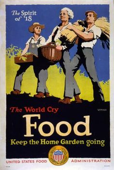 WW1 Food Poster