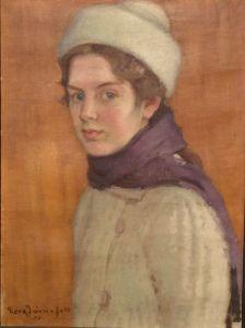Aino Sibelius Eero Järnefelt Finland Royal Purple Color, Art For Kids, Illustration, Faces, Portraits, Paintings, People, Finland, Artists