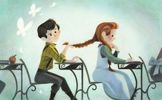 Genevieve Godbout illustration #anneofgreengables #goodnightanne