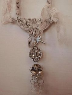 Heather Richardson DBA Vintage Soul  Victorian necklace