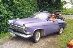 Crazy Cars from Russia Volga