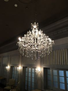 large crystal chandelier in ballroom Light Project, Large Crystals, Chandelier, Ceiling Lights, Lighting, Projects, Home Decor, Log Projects, Candelabra
