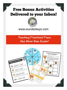 Just sent out another free WunderKeys game! Have you checked out this preschool piano program yet? Free to offer and fun to teach! www.wunderkeys.com
