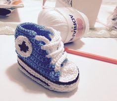 Baby converse all star uncinetto
