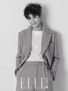 Choi Woo Shik for Elle magazine February Issue '15