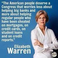 """#ElizabethWarren: She speaks for me. #p2 #bailout #studentloandebt"" #uniteblue #auspol"