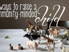 Community minded children