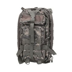 Small Backpack/Digital Description NcSTAR Tactical Backpack This backpack by NcSTAR features a main zippered compartment with an internal zippered pocket, the m Hiking Bag, Camping And Hiking, Hiking Backpack, Backpacking, Camping Tips, Hunting Packs, Hunting Gear, Small Backpack, Backpack Bags