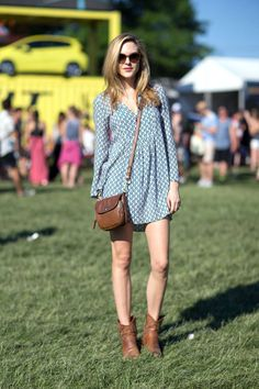 Governors Ball 2014 Street Style - Governors Ball Music Festival Fashion 2014 - Harper's BAZAAR