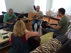 Guitar lessons at lunch #teambuilding | PaperStreet