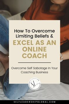 4 Steps to Overcoming Self Sabotage As An Online Coach | Entrepreneur Tips & Coach Business Tips - Want to know the key mindset tip for successful entrepreneurs? It's stopping self sabotage! Click through to learn how to not self sabotage so you can grow your business * find success. entrepreneur mindset tips | Self Leadership Global #selfsabotage #coachingbusiness #entrepreneurship #entrepreneurtips #entrepreneurmindset #mindset Successful Business Tips, Successful Entrepreneurs, Business Coaching, Starting Your Own Business, Online Entrepreneur, Business Entrepreneur, Becoming A Life Coach, Business Writing, Entrepreneur Inspiration