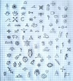 Been jotting any icon I can think of, whether traditional or new. Going to be creating a lot of these in vector for the branding. :) –Ry