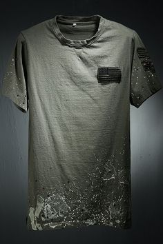 The Vicemode Detailed Painted Patch T-Shirt, is one of our most popular items.