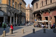 P.zza della Mercanzia Bologna, Travel Photos, Cool Photos, Street View, Italia, Travel Pictures