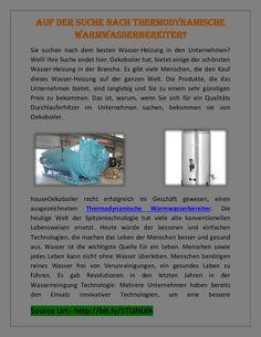 Oekoboiler wurde sehr beliebt bei der Bereitstellung von ausgezeichneter Qualität Wasserheizungsprodukte in der Branche. Das Unternehmen bietet verschiedene Produkte, die Sie Wasser zum Trinken und Reinigungszwecke zu reinigen, zu helfen.