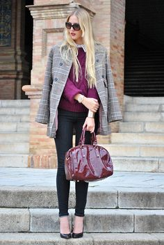 Burgundy fall (by Marta M) http://lookbook.nu/look/4277097-Burgundy-fall