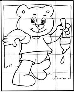 Okul Öncesi Puzzle Kalıpları - Okul Öncesi Etkinlik Faaliyetleri - Madamteacher.com