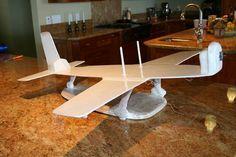 Aeroplane cake stand